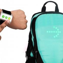 Sac à dos GO LED avec clignotant